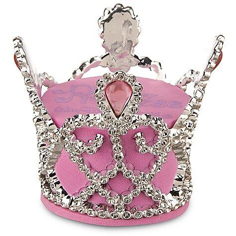 New Disney Princess Crown Car Antenna Topper Pink Jeweled