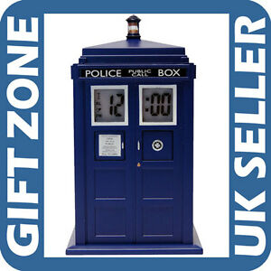 New dr who doctor who tardis projection alarm clock ebay - Tardis alarm clock ...