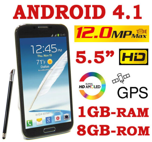 *NEW* EZIO 7102B 5.5-inch ANDROID 4.1 1GB-RAM 12.0MP GPS 2-SIM 3G SMARTPHONE in Cell Phones & Accessories, Cell Phones & Smartphones | eBay