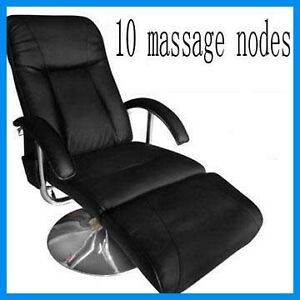 NEW Electric TV Recliner Massage Chair Black Comfortable Relax EBay