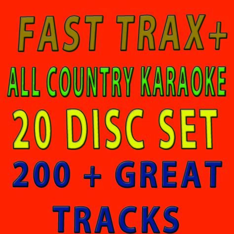 NEW FAST TRAX+ALL COUNTRY HOTTEST TRACKS 2011/20 DISC KARAOKE COUNTRY GOOD PRICE in Musical Instruments & Gear, Karaoke Entertainment, Karaoke CDGs, DVDs & Media | eBay