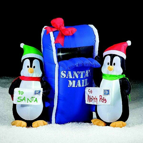 Christmas inflatables gemmy airblown inflatables 2014 for Air blown decoration