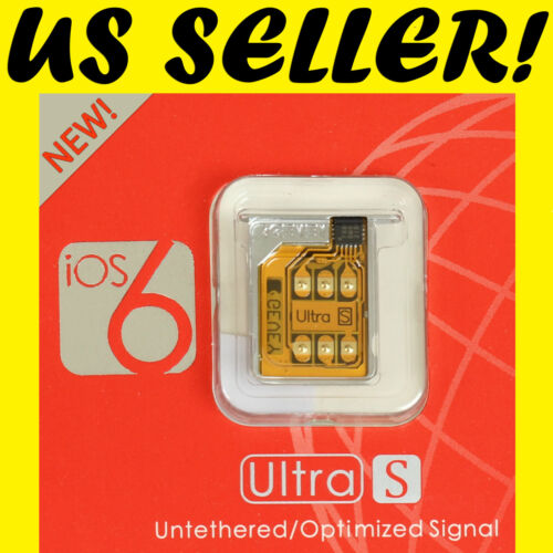 NEW GEVEY ULTRA S ios 6.0 to UNLOCK ALL GSM iPHONE 4S SUPPORTS ios 5.1 - 6.0 in Cell Phones & Accessories, Phone Cards & SIM Cards, SIM Cards | eBay