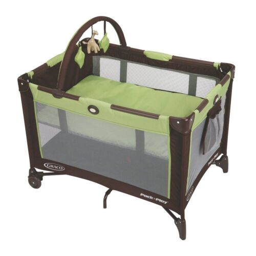 NEW GRACO PACK N PLAY ONTHE GO TRAVEL PLAYPEN BASSINET CRIB CRADDLE BABY TODDLER in Baby, Baby Gear, Play Pens & Play Yards | eBay