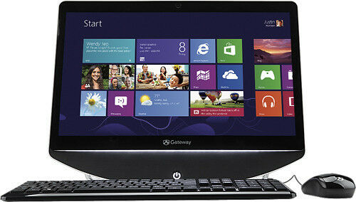 "NEW Gateway One 20"" All-In-One Computer 4GB 500GB Window 8 Webcam microphone in Computers/Tablets & Networking, Desktops & All-In-Ones, PC Desktops & All-In-Ones 
