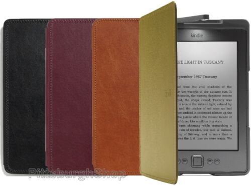 NEW Genuine OEM Amazon KINDLE Official Lighted Leather Cover Case with LED Light in Computers/Tablets & Networking, Other | eBay