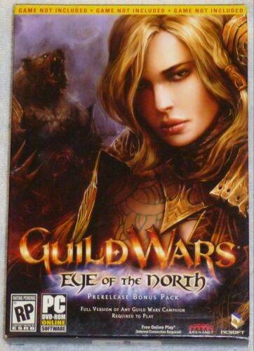 NEW Guild Wars Eye of the North Pre-Order Prerelease Pre-Release Bonus w/CD Key in Video Games & Consoles, Other | eBay