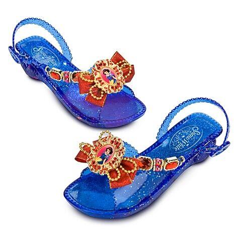 NEW Halloween Light Up Disney Princess Snow White Costume Shoes 9 10