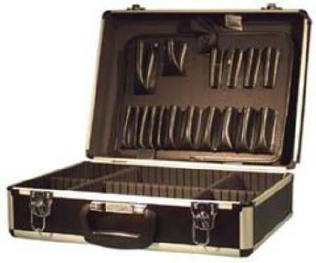 NEW Heavy Duty Aluminum Tool Equipment Case Briefcase Test Equipment
