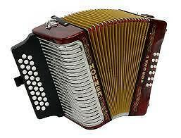NEW Hohner Corona II Diatonic Accordion ADG MM Red with Gig Bag in Musical Instruments & Gear, Accordion & Concertina | eBay