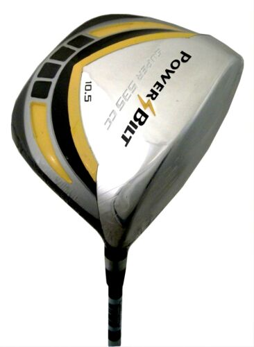 NEW ILLEGAL! Powerbilt Super 535 CC 10.5° Driver TOO FAR! TOO STRAIGHT! TOO BIG! in Sporting Goods, Golf, Clubs | eBay