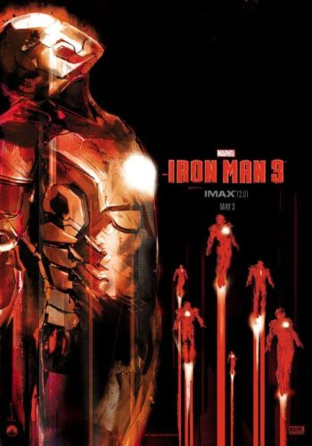 NEW *** IRON MAN 3 *** IMAX 12:01 EXCLUSIVE POSTER *** NEW in Entertainment Memorabilia, Movie Memorabilia, Posters | eBay