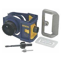 New Irwin Door Lock Deadbolt Jig Installation Kit Ebay