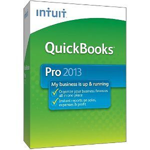 NEW! Intuit QuickBooks Pro 2013 Accounting Software Windows -Boxed, full version in Computers/Tablets & Networking, Software, Office & Business | eBay