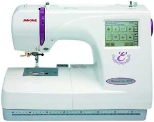 Janome Memory Craft 350e Embroidery Machine 2015 Best