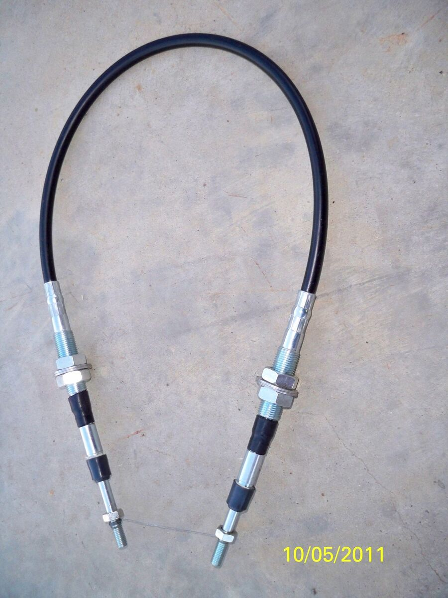 KOMATSU D21 TRANSMISSION SHIFT CABLE, FORWARD/REVERSE, DOZER, LOADER
