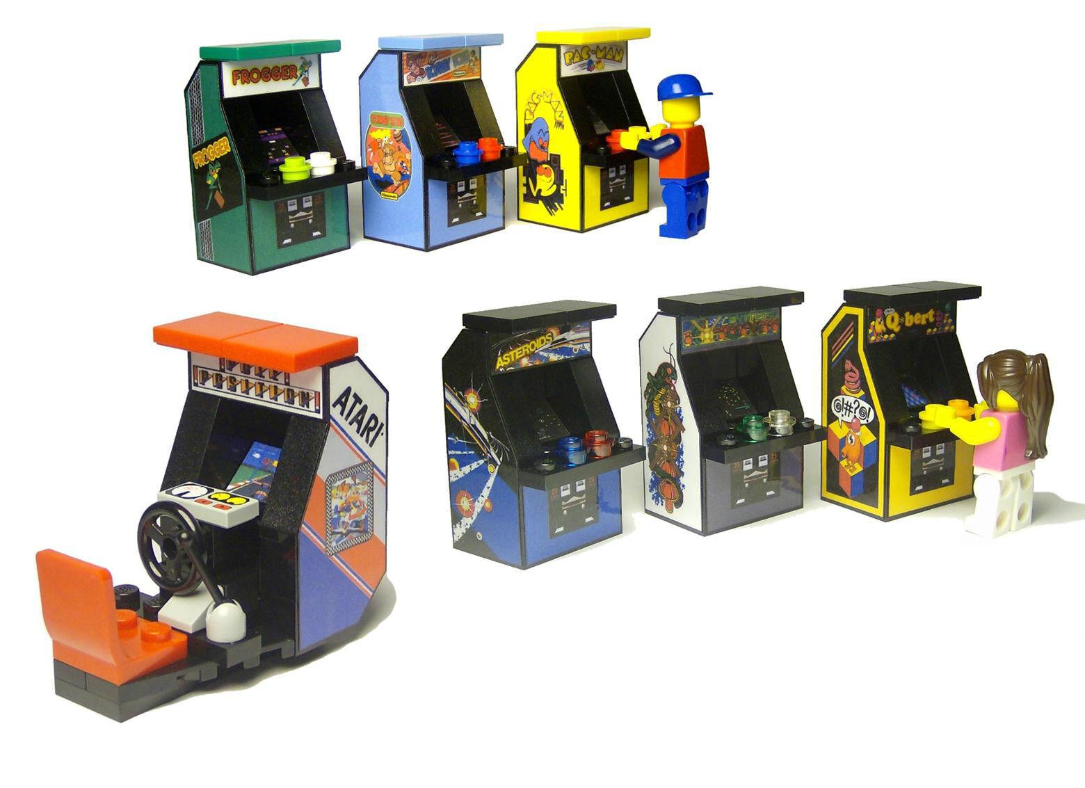 lego arcade machine