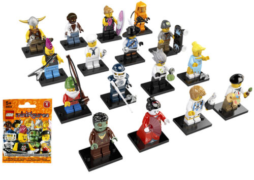 NEW LEGO MINIFIGURE SERIES 4 SET 8804 SEALED 16 minifigs UNOPENED figures guys in Toys & Hobbies, Building Toys, LEGO | eBay