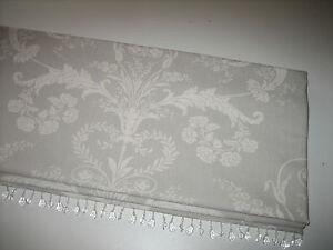 New Laura Ashley Josette Toile Dove Grey Linen Fabric
