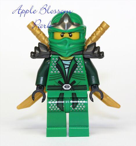 NEW Lego Ninjago GREEN NINJA MINIFIG - Lloyd ZX Minifigure w/2 Gold Swords -9450 in Toys & Hobbies, Building Toys, LEGO | eBay