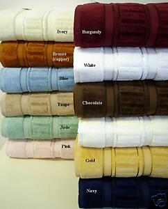NEW ! Luxury 6pc Bath Towel Set 100% Egyptian Cotton in Home & Garden, Bath, Bath Accessory Sets | eBay