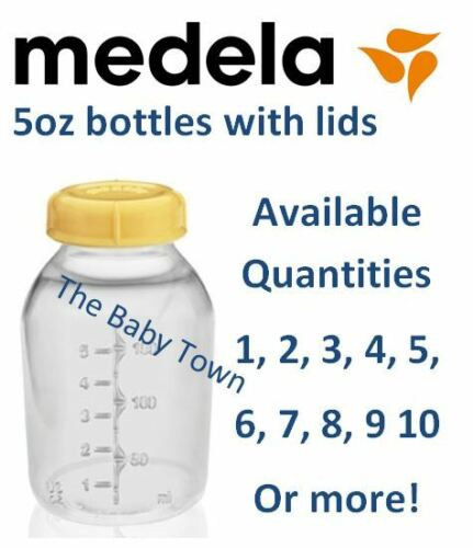 NEW Medela Baby Bottle Breast Milk Bottles 5oz 150ml With Lid BPA FREE in Baby, Feeding, Baby Bottles | eBay