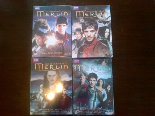 NEW Merlin Season 1-4 Complete seasons 1,2,3,4 - Free Shipping!!! in DVDs & Movies, DVDs & Blu-ray Discs | eBay