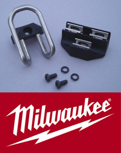 NEW Milwaukee M18 18V Cordless Compact Drill 2601-22 Belt Hook/Clip + Bit Holder in Home & Garden, Tools, Other | eBay