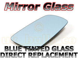 NEW Mirror Glass BLUE RENAULT MEGANE Passenger 03->07