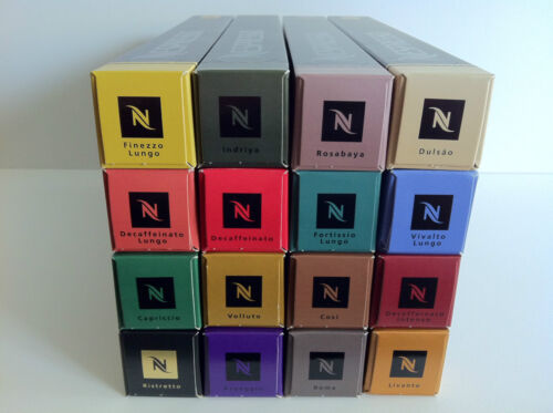 NEW NESPRESSO COFFEE CAPSULES. MIX OR MATCH SLEEVES. YOU CHOOSE QUANTITY OF PODS in Home & Garden, Food & Beverages, Coffee | eBay