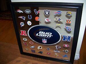 New Never Displayed Bud Light Nfl Team Logo Football