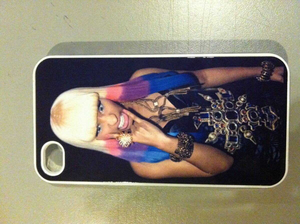 New Nicki Minaj iPhone 4 4S Hard Case Cover Clear Case Free SHIP from USA