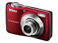 NEW-NIKON-COOLPIX-L24-14MP-DIGITAL-CAMERA-RED-109