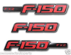 new 2013 ford f 150 fx2 sport appearance package emblem. Black Bedroom Furniture Sets. Home Design Ideas