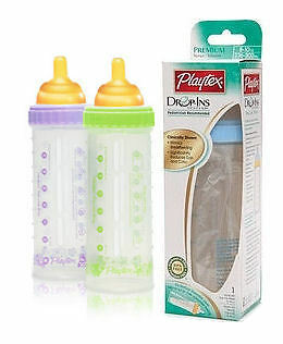 NEW ~ Original Playtex Drop-Ins System 8oz Nurser Baby Feeding Bottle in Baby, Feeding, Baby Bottles | eBay
