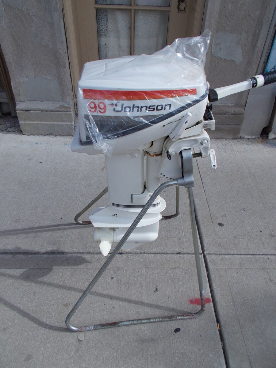 New outboard boat motor 1978 johnson 9 9 sea horse w for 4 horse boat motor