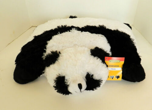 NEW PARADISE PET PILLOWS PANDA BEAR-SOFT PLUSH STUFFED ANIMAL PILLOW in Toys & Hobbies, Stuffed Animals, Other | eBay