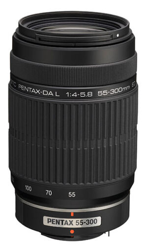 NEW PENTAX DA L 55-300mm f/4-5.8 ED Lens for K-r K-5 in Cameras & Photo, Lenses & Filters, Lenses | eBay