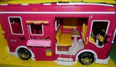 New Pink Breyer Horse Cruiser camper Van Trailer RV Fits Pony Gals Classic