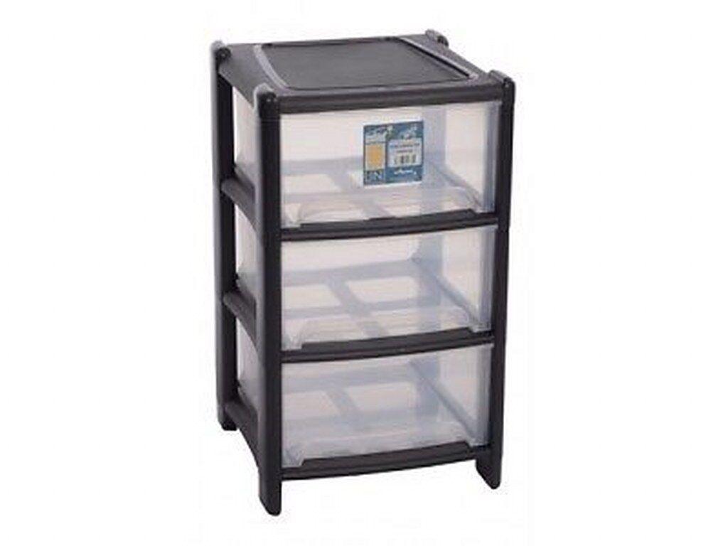 Deep Drawer Plastic 3 Tier Storage Unit,Cabinet Paper