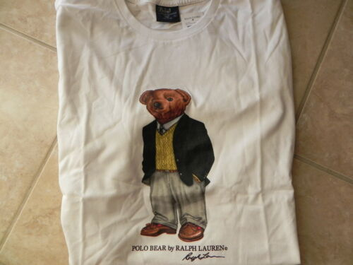 & NEW RALPH LAUREN POLO BEAR T-SHIRT PREPPY BLACKWATCH BLAZER/VEST LOAFERS 2XL in Clothing, Shoes & Accessories, Men's Clothing, T-Shirts | eBay