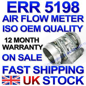 New Air Flow Mass Meter Sensor MAF Land Rover Discovery 1993-1998 3.9 V8 ERR5198