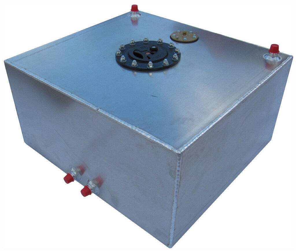 New RCI 15 Gallon Pro Street Aluminum Fuel Cell w Sending Unit Racing Gas Tank
