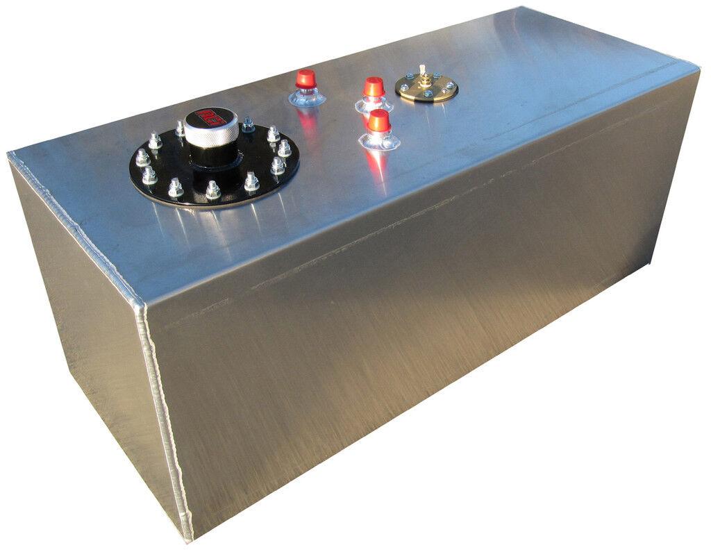 New RCI 19 Gallon Street Rod Aluminum Fuel Cell w Sending Unit Hot Rod Gas Tank