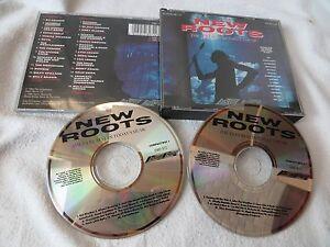 NEW-ROOTS-2CD-Ry-Cooder-Enya-Runrig-Pogues-Bulgarian-Voices-B-CD-Musik