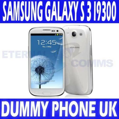 NEW SAMSUNG GALAXY S 3 i9300 WHITE DUMMY DISPLAY PHONE - UK in Cell Phones & Accessories, Display Phones | eBay