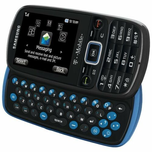 NEW SAMSUNG T479 GRAVITY 3 BLUE T-MOBILE CELL PHONE USA SELLER IB in Cell Phones & Accessories, Cell Phones & Smartphones   eBay