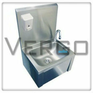 Commercial Basin : ... -STEEL-CATERING-KNEE-OPERATED-SINK-HAND-WASH-BASIN-COMMERCIAL-SINK