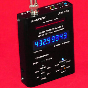 Startek ATH 65 Hand Held Frequency Counter RF Detector Pro Quality ...