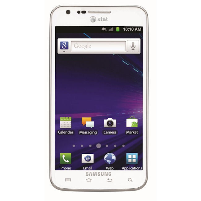 New Samsung Galaxy s II Skyrocket i727 White 4G LTE Unlocked Android Smartphone